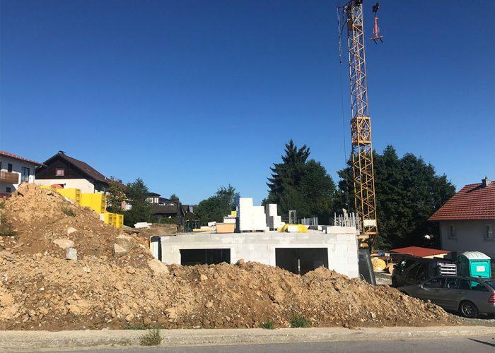 Neubau Mehfamilienhäuser, Viechtach