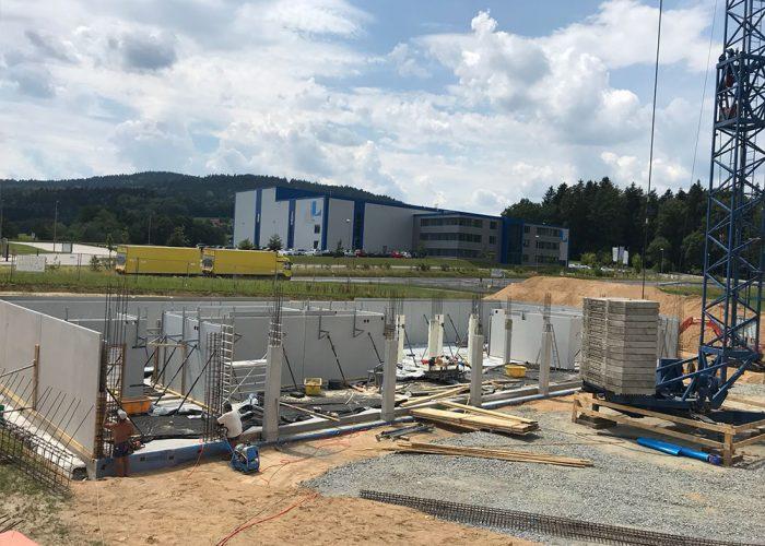 Neubau Firmenzentrale ITES GmbH, Geiersthal