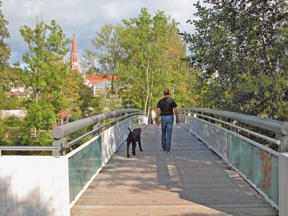 Brücke, Kurpark Zwiesel