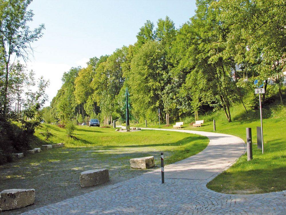 Parkanlage am Bahnhof, Viechtach
