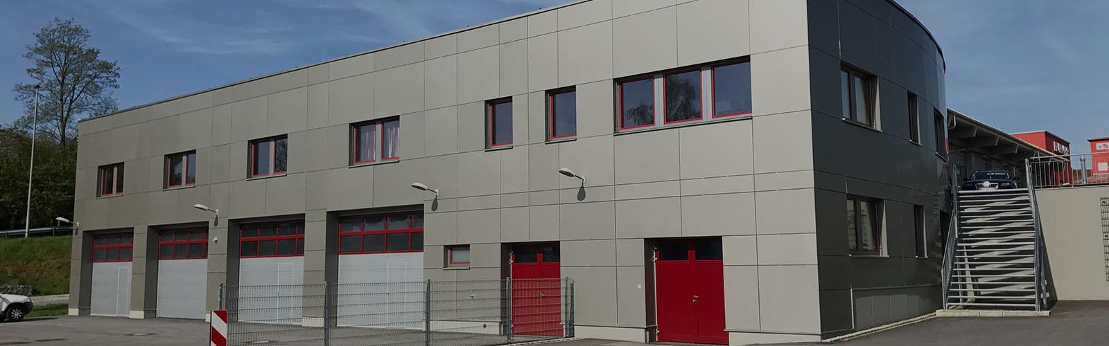 Industrie Gewerbe, Feuerwehrhaus Viechtach